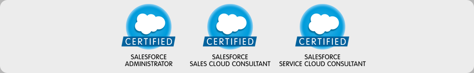 salesforce sales cloud consultant, service cloud consultant, salesforce administrator, silver cloud alliance partner
