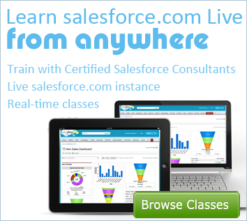 Learn salesforce.com from Anywhere