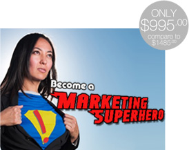 Become a Marketing Superhero