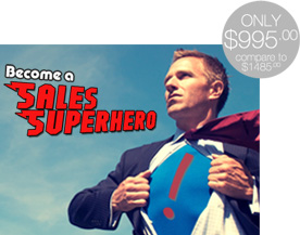Become a Sales Superhero
