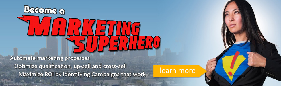 salesforce.com Marketing Superhero